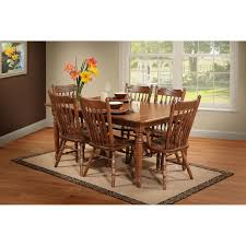 trailway sylvan 7 pc dining room set stewart roth furniture