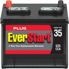 everstart plus automotive battery group size 35 3 walmart com