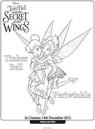 tinkerbell periwinkle secret wings fairy silver glitter