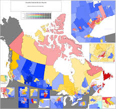 projected riding by riding results of the 2015 canadian federal