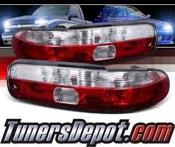 spec d tail lights spec d red clear tail lights 92 94 lexus sc300 lt sc30092rpw apc