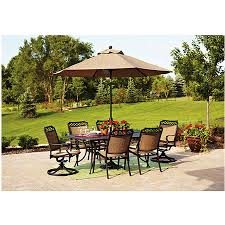 Home Depot Patio Dining Sets - 9 patio umbrella cool home depot patio furniture for concrete