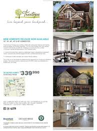 Brookfield Homes Floor Plans by Alliston Treetops Brookfield Homes New Community Brian Lafazanos
