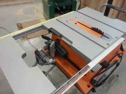 Ridgid Table Saw Review Ridgid 10 Inch Table Saw R4510 Review A Concord Carpenter