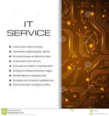 it service vector banner can be used for web design brochure