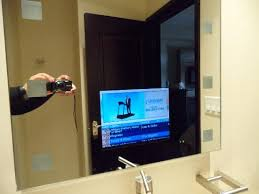 Bathroom Mirror With Tv by Tv In The Bathroom Mirror Picture Of Copper Point Resort