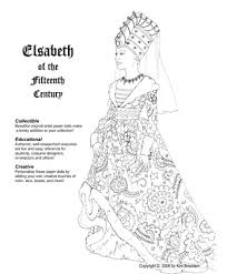 medieval times clothing coloring pages readers historical