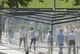 Kansas travel smart images Visit a glass labyrinth in kansas city smart news smithsonian jpg
