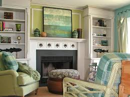 Bookcase Decorating Ideas Living Room Decorating Ideas For Fireplace Mantels And Walls Diy