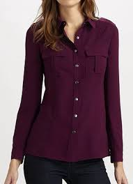 womens shirts and blouses in silks and cottons
