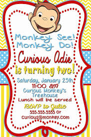 curious george party curious george party invitations marialonghi
