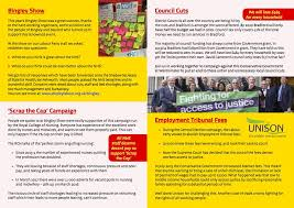 Westminster Council Tax Leaflet Bingley Branch Labour Home