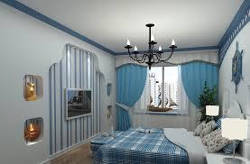 mediterranean style bedroom interior design classic blue bedroom mediterranean style