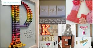 Ideas For Letters Decorating With Letters And Words 37 Striking Tutorials You