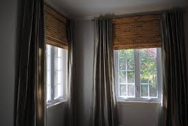 Window Blinds Curtains by Bamboo Roman Shades Window Blinds Bambo Discount For Shade Dark