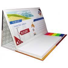 maxi bureau imprimez en ligne votre logo sur le calendrier de bureau post it maxi