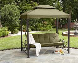patio swing canopy cover backyard and outdoor furniture ideas