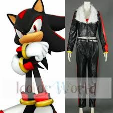 Sonic Hedgehog Halloween Costume Sonic Hedgehog Shadow Hedgehog Cosplay Costume Halloween