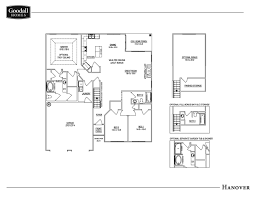 new home floor plans the hanover floor plans goodall homes