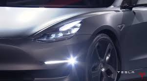 tesla electric car model 3 unveiled at 35 000 available for pre