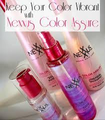 Nexxus Color Assure Pre Wash Primer - keep your color vibrant with nexxus color assure u2013 the nyc talon