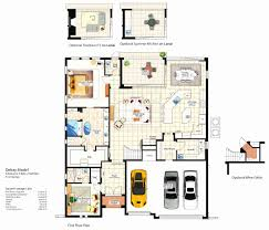 Floor Plan line Inspirational Saisawan Garden Villas Ground