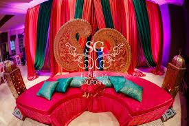 home wedding decor suhaag garden avani and chirag loews atlanta hotel r a g