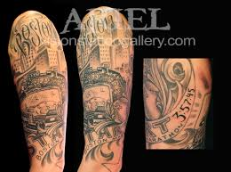 collection of 25 black half sleeve tattoos for