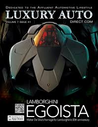 lamborghini egoista issue 41 featuring lamborghini egoista now available on itunes