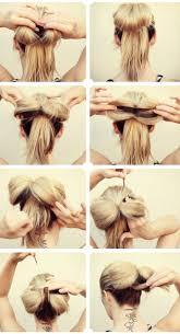best 25 bow hairstyle tutorial ideas on pinterest hair bow bun