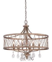 Gold Chandelier Light Minka Lavery 4406 West Liberty 24 Inch Wide 6 Light Large Pendant
