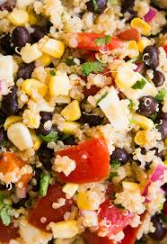 quinoa salad for thanksgiving mexican quinoa salad with black beans corn and tomatoes recipe