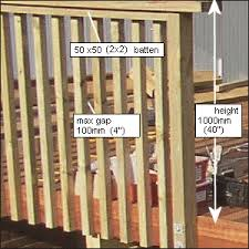 deck handrail and steps