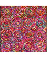 spooktacular fall savings on recycled fabric chindi rug u0027waves of