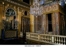 chambre louis 14 louis xiv bedchamber palace versailles stock photos louis xiv