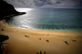 turtle beach west side of oahu hawaii view from hawaiian