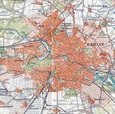 Berlin Map Large Detailed Old Map Of Berlin City U2013 1895 Vidiani Com Maps