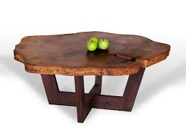 Furniture Homemade Coffee Table Solid Wood Coffee Table by Awesome Diy Wood Slab Table Intended For Coffee Ordinary Amazing