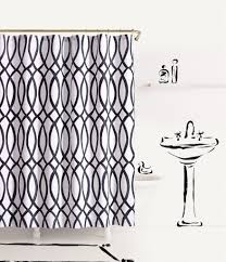 Checkered Shower Curtain Black And White by Home Bath U0026 Personal Care Dillards Com