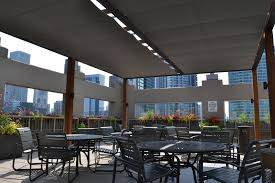 Chicago Patio Design by Chicago Roof Deck Turns To Shadefx For Shade And Privacy Solutions