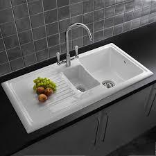 sinks farmhouse kitchen sink white brick wall model and hardwood