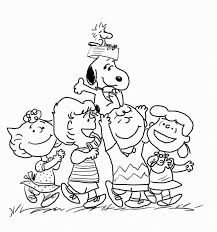 the peanuts the peanuts movie coloring pages