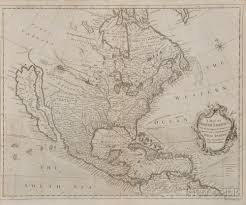 Map Of North And South America by North And South America Two Maps Richard William Seale 1703