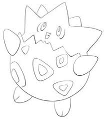 pokemon coloring pages togepi bulbasaur coloring page from generation i pokemon category select