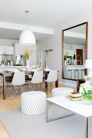 Modern Mirrors For Dining Room Decoracion De Comedor Y Sala Juntos En Espacio Pequeno 6 Living