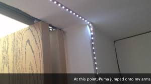 Closet Lighting Ideas by Led Strip Lights With Dimmer Youtube