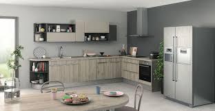 cuisine ton gris indogate cuisine gris anthracite et meubles bois couleur