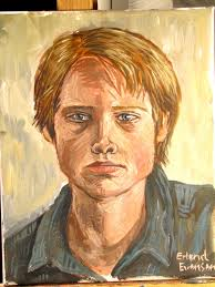 self portrait painting by erlend se