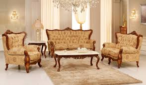 Gold Curtain Living Room Elegant Victorian Style Living Room Design With Gold