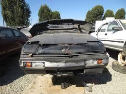 mitsubishi conquest 1984 mitsubishi starion le u2013 junkyard find